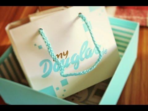 EbruZa – live unboxing Douglas Box