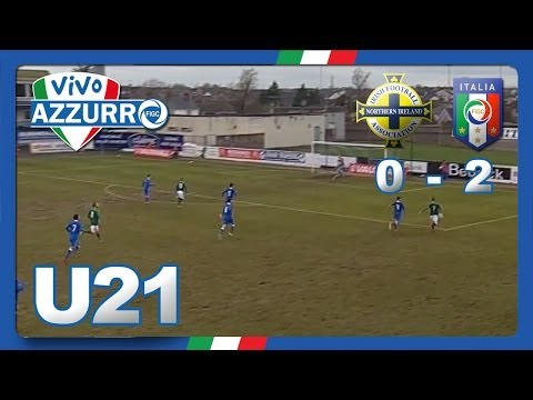 UNDER 21 Irlanda del Nord-Italia 0-2 (05 marzo 2014)