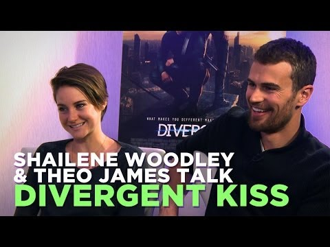 Shailene Woodley & Theo James Talk 'Divergent' Kiss