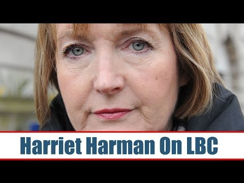 Harriet Harman - Live On LBC