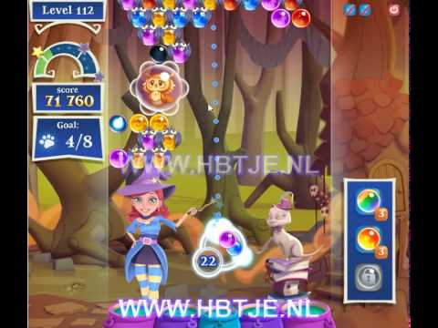 Bubble Witch Saga 2 level 112