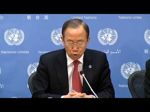 Press Conference Year end press conference by the UN Secretary General Ban Ki moon