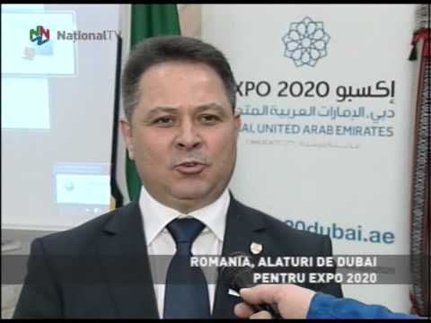 ROMANIA PROMOTES DUBAI CANDIDATURE FOR WORLD EXPO 2020