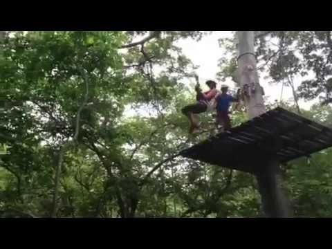 black stallions fun zip line bounce.
