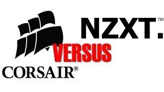 Corsair VS NZXT H110 H90 X40 X60 Watercooling Shoot Out