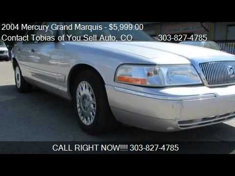 2004 Mercury Grand Marquis GS Low Miles Sedan - for sale in