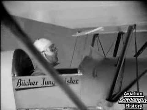 Otto Von Hagenburg and the Bücker/Burgess Bu 133 Jüngmeister
