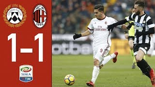 Highlights - Udinese 1-1 AC Milan - Serie A 2017/18