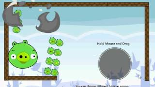 Angry Birds Cannon All Levels