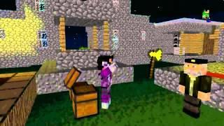 Minecraft Animation 6 Vegetta777 VS Willyrex