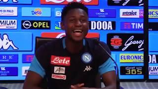 Il centrocampista azzurro protagonista di #AskAmadou ha risposto alle domande dei tifosi