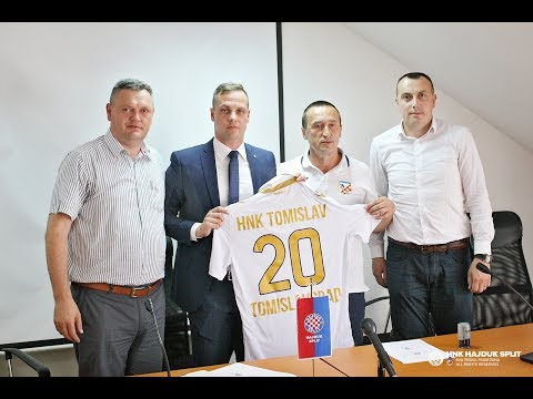 Predstavljanje poslovno-sportske suradnje HNK Hajduk i HNK Tomislav
