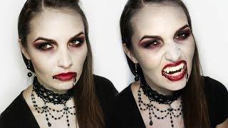 Mroczna Bohaterka - Charakteryzacja na Wampira (Halloween Makeup Tutorial)