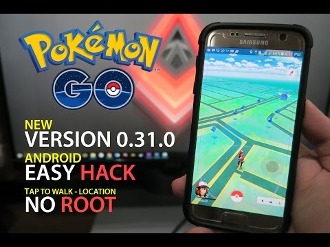Pokemon GO Hack Android NO ROOT! Tap to Walk, Location