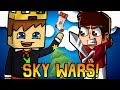 A DUPLA NATALINA! Sky Wars - Minecraft Games ft. LuginBr