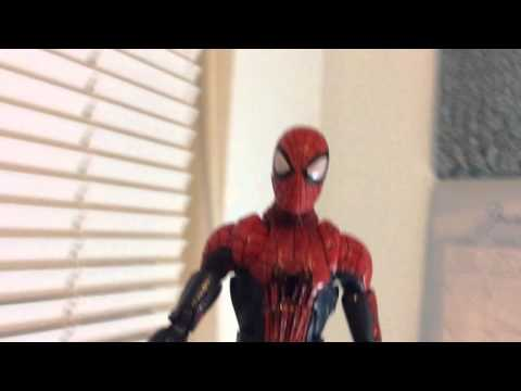 The Amazing Spider Man 2 Toy Trailer