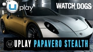 "Watch Dogs ""Papavero Stealth Edition"" Performance Car"