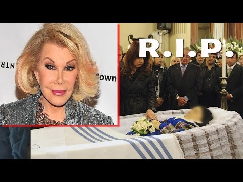 Joan Rivers Dead Body Joan Rivers Died at 81 Dead