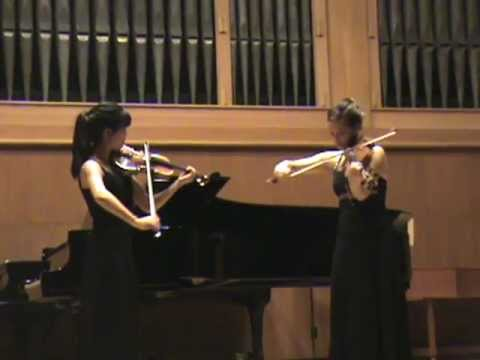 Alicia Ponder Senior Recital November 12, 2011 - Violin and Viola Duet