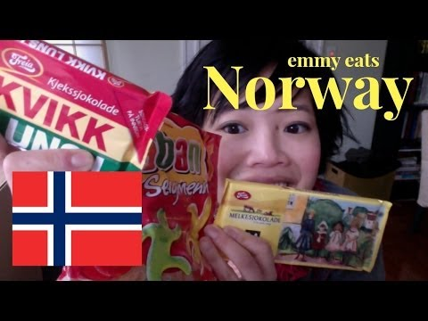 Emmy Eats Norway - tasting Norwegian sweets