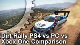 Dirt Rally - PS4/Xbox One/PC Graphics Comparison