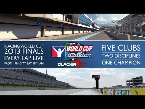 The 2013 World Cup of iRacing: Evening Session