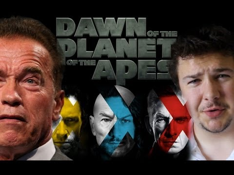 SCHWARZENEGGER, JOHNNY DEPP, APES, X-MEN, and MORE!