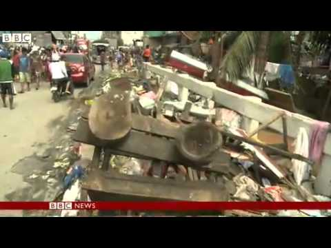 Typhoon Haiyan  Remote Philippines towns receive aid