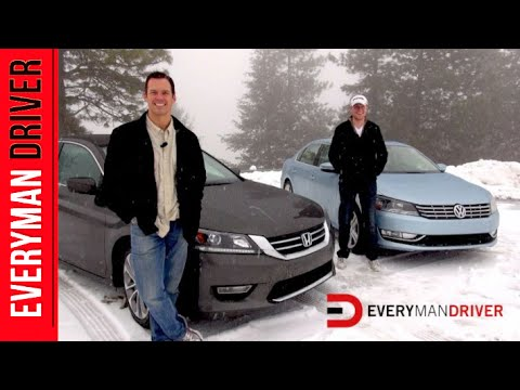 2013 VW Passat SE vs. 2013 Honda Accord Sport on Everyman Driver