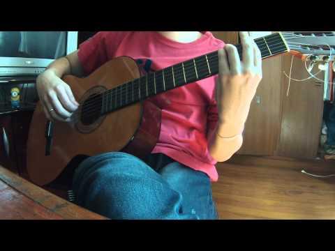 Super Mario World - Castle theme (acoustic cover)