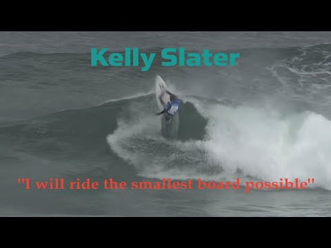 "KELLY SLATER SURFING TINY 5'9"" SURFBOARD AT SOLID MARGARET RIVER PRO 2011"