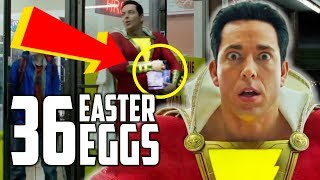 Shazam Trailer - Every Easter Egg and DC Reference
