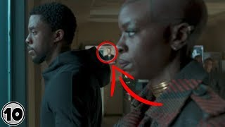 Top 10 Easter Eggs You Missed In Black Panther