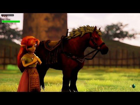 Unreal Engine 4 [4.12] Zelda Ocarina of Time / Lon Lon Ranch