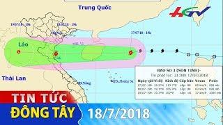 Bão số 3 sẽ đổ bộ vào các tỉnh từ Hải Phòng đến Hà Tĩnh   TIN TỨC ĐÔNG TÂY - 18/7/2018