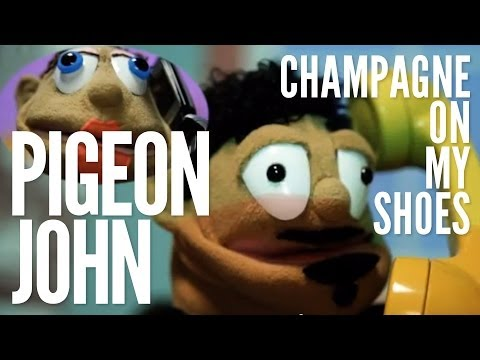 image vidéo Pigeon John : Champagne On my Shoes