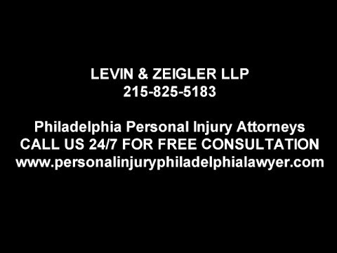 Philadelphia Car Accident Lawyer  -  215-825-5183 - Levin & Zeiger LLP