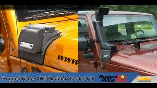 Rugged Ridge XHD Modular Snorkel Kit For Jeep Wrangler