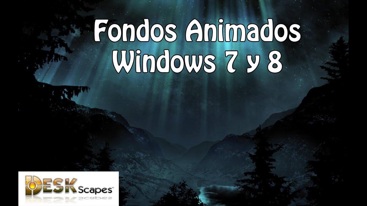 Fondos de escritorio animados para windows 8 1 8 7 youtube - Fondos de escritorio animados ...