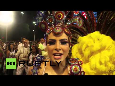 Brazil: Gorgeous dancers light up the night at Rio Carnival