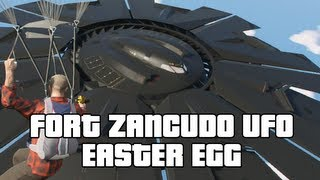 GTA V: Fort Zancudo UFO Easter Egg