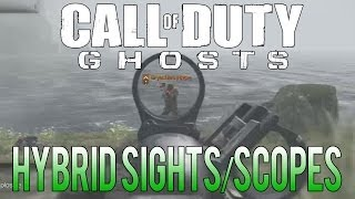 Call Of Duty: Ghosts Using Hybrid Sights/Scopes (Tips