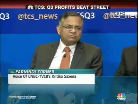 TCS Q3 net beats street; CEO Chandra sees stronger FY15 -  Part 2