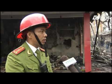 VTC14_Hà Nội: Cháy lớn tại chợ Nhà Xanh