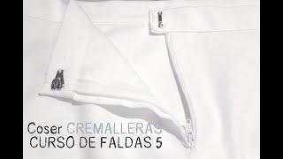 Aprender a coser faldas: Parte 5