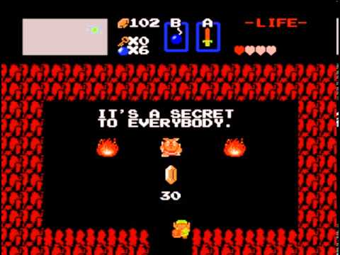 Legend of Zelda - Zelda 1 What To Do First! - User video