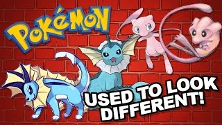 Pokémon that used to look different! (Feat. BirdKeeperToby)