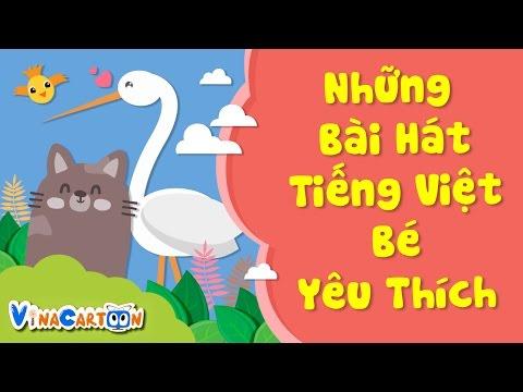 nNhững Bài Hát Tiếng Việt Bé Yêu Thích - Tập 1