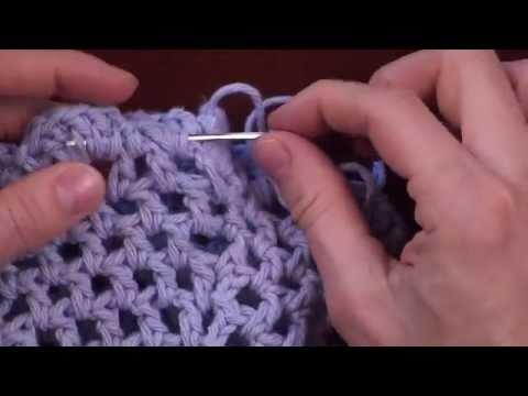 Crochet Finishing: Weaving in The Ends