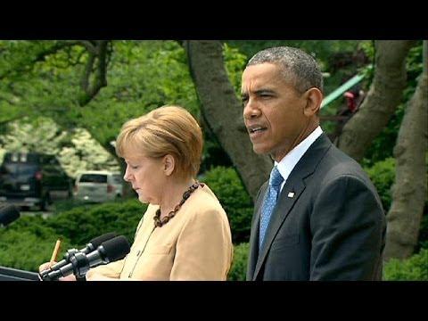 Obama et Merkel unis pour tenter de faire plier la Russie sur l'Ukraine